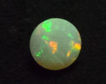 ethopian opal AAAA quality 10x10 mm round multi cut fire 3.45 cts