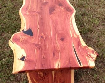 Beautiful handmade Cedar coffee Table