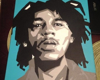 Bob Marley in B&W