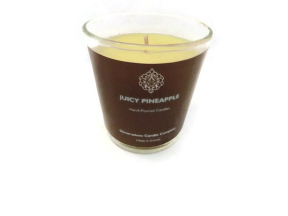 Juicy Pineapple Scented Candle 13 oz. Classical Tumbler