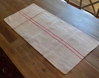 Vintage Grain Sack from Eastern Europe
