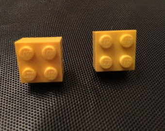 Brick Block Earrings