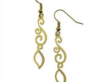 Lace Stalk Earrings