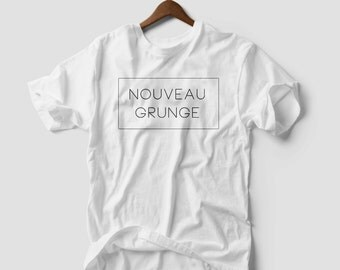 NEW GRUNGE T-shirt Top Hipster Tumblr Fashion Punk Vogue new Homies
