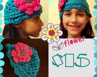 Handmade Flower Hat