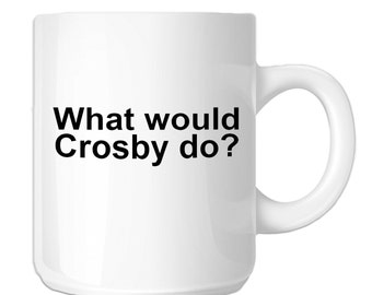 What would Sidney Crosby Do? (SP-00691) 11 OZ Novelty Coffee Mug