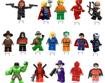 Marvel Super Heroes Stands up cupcake toppers 28 PIECES image2
