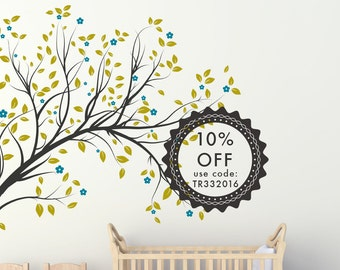 Large Tree Wall Decals - Large Tree Wall Art - Nursery Wall Art - Nature Wall Decals - Nursery Wall Decals - Nursery Wall Decor