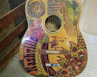 Guitar would make a wonderful addition to your music room.