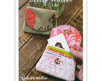 Little Wallet, a Valori Wells Designs sewing cards
