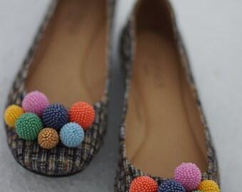 the сolor balls flats, ballet shoes, ballet flats, women shoes