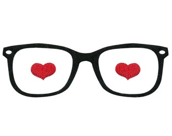 Only Have Eyes for you Glasses Embroidery Designs