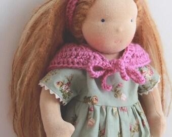 Waldorf doll - Textil doll