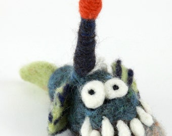 Kit -Angler Fish Needle felting kit