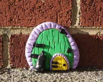 Fairy CAT AND MOUSE Door - Unique Design To Us - Suitable for outside - Brand New