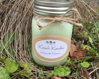 Soy Candle with Wood Wick 16oz