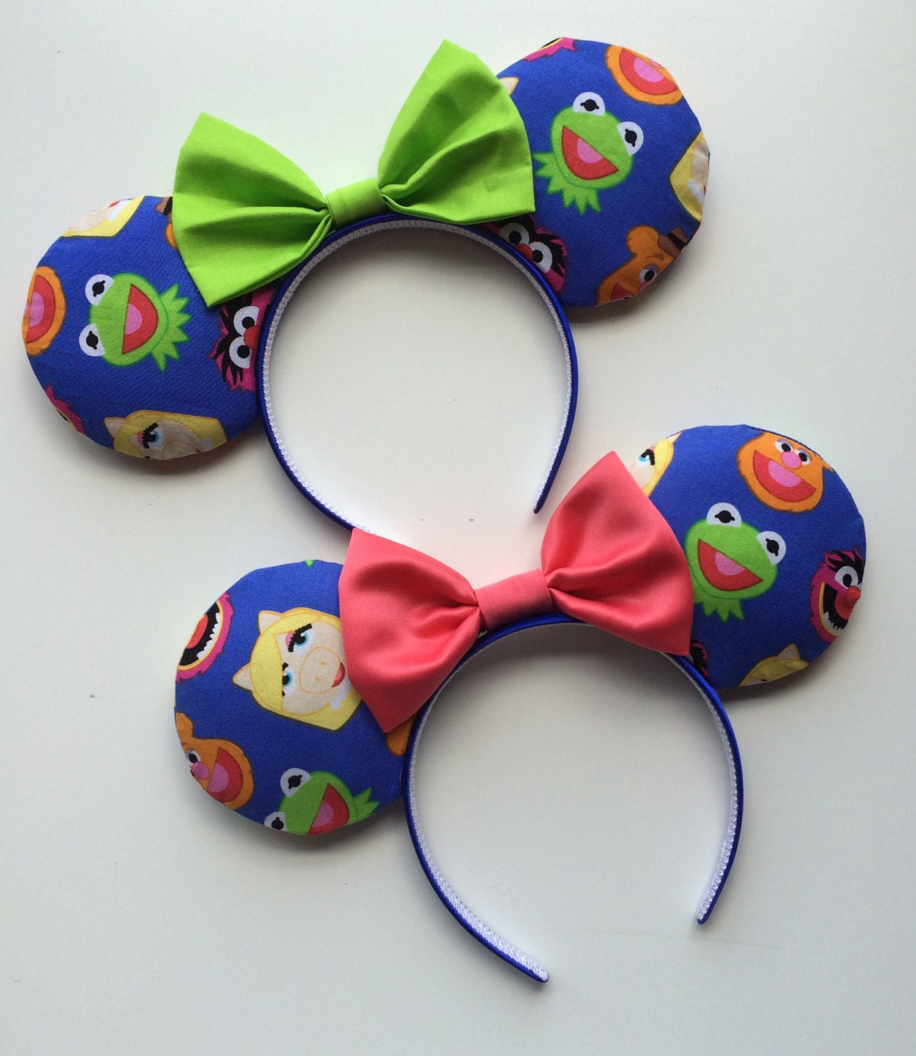 Muppets Emoji Mickey Minnie Mouse Ears Kermit The Frog Miss