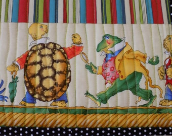 """PLACEMATS  """"the animal parade"""" set of 6"""