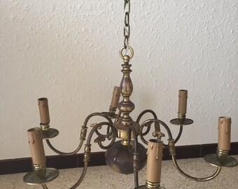 Beautiful chandelier Dutch vintage
