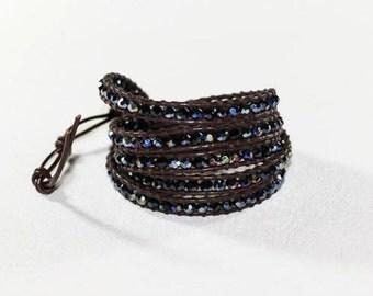 Bracelet wrap Crystal