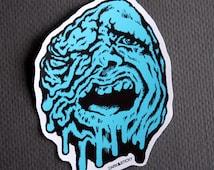 Street Trash Melting Man Sticker! x1