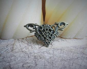 Triangular Steampunk Ring