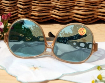 Soviet Vintage Sunglasses Made in USSR 1980s Sunglasses Retro, rare sunglasses, old sunglasses