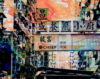 HONG KONG Signs XIV by Sven Pfrommer - Artwork is ready to hang