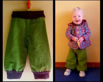 Green Bohemian Trousers