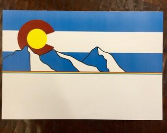 Colorado Paper Placemats