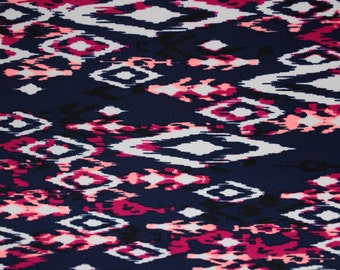 Print Lycra/Spandex 4 way stretch Matt Finish Fabric