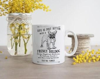 French Bulldog Mug ~ Perfect Gift can be personalised