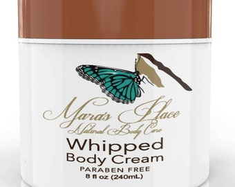 Whipped Body Cream  8 ozs