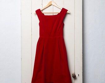 50's Velvet Dress