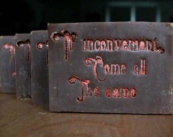 Medium Sherlock Holmes Goat's Milk Soap