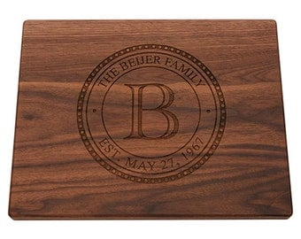 Housewarming Gift, Cutting Board, Wedding Gift, Engraved Cutting Board, Anniversary Gift, Personalized Cutting Board