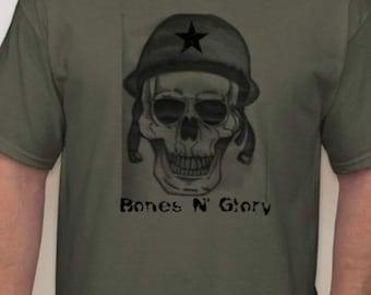 Bones N Glory™ Bones crew T-shirt