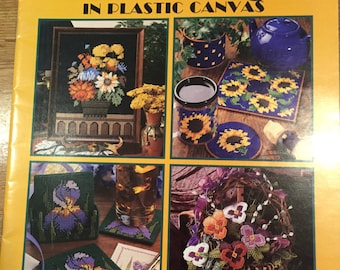 Our Best Floral Designs in Plastic Canvas