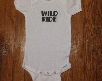 Wild Ride Baby Onesie