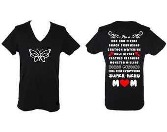Mother's Day Mom Superhero Shirt