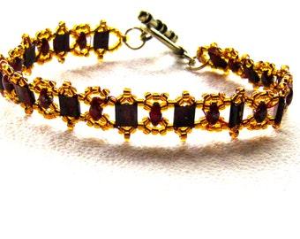 Sparkling Tila bracelet