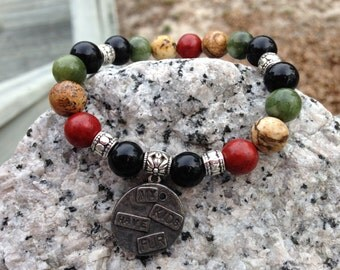 The Sedona Bracelet ( with choice of charms)