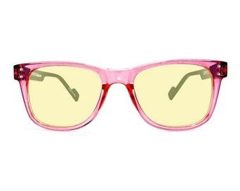 Retro Style Wayfarer Computer Glasses Transparent Retro Eyeworks Superflex Vintage Eyewear
