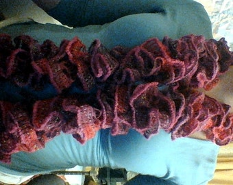 Ruffle Scarves