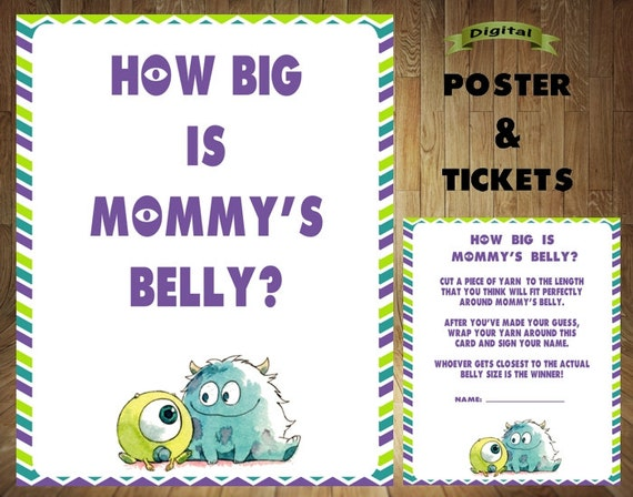 monster baby shower  etsy, Baby shower invitations