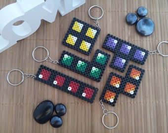 Tetris Keychains