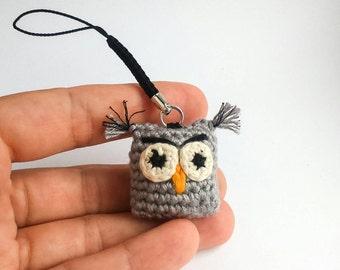Keychain Owl Amigurumi