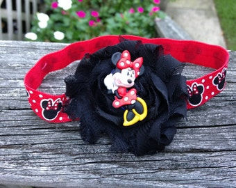 Minnie Mouse Barefoot Sandal Set