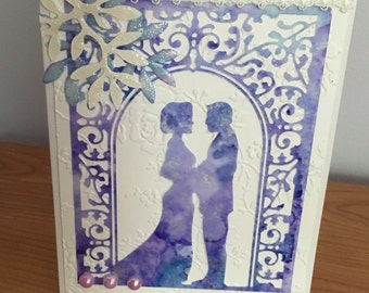 One of a kind Wedding card