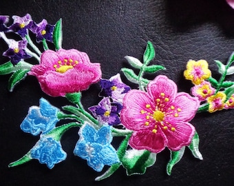iron on applique - FLOWER
